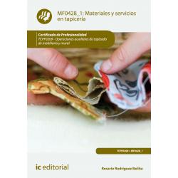 Materiales y servicios en tapicería MF0428_1