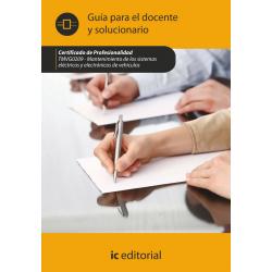 Guía para el docente y solucionario. TMVG0209