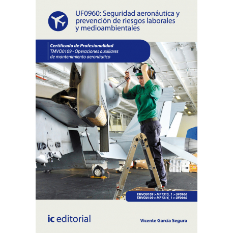 Seguridad aeronáutica y prevención de riesgos laborales y medioambientales UF0960