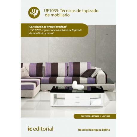 Técnicas de tapizado de mobiliario UF1035