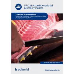 Acondicionado del pescado y marisco  UF1223