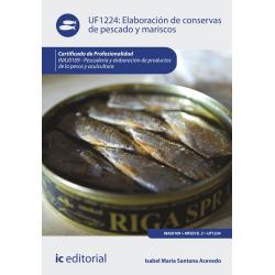 Elaboración de conservas de pescado y mariscos UF1224