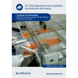 Elaboración de congelados de productos de la pesca UF1226