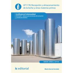 Recepción y almacenamiento de la leche y otras materias primas UF1178