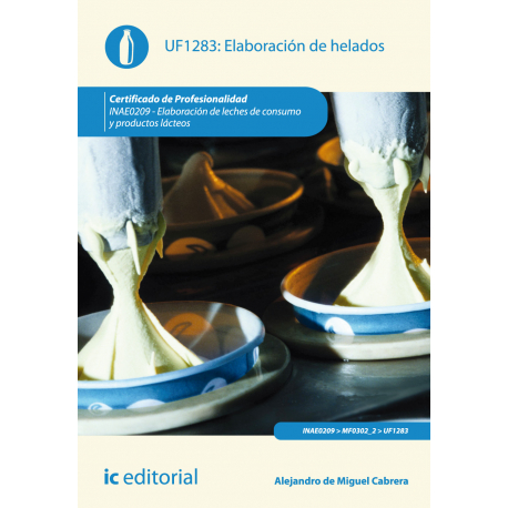 Elaboración de helados UF1283
