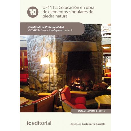 Colocación en obra de elementos singulares de piedra natural UF1112