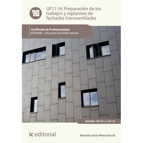 Preparación de los trabajos y replanteo de fachadas transventiladas UF1114