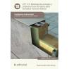 Montaje de anclajes y subestructura portante para fachadas transventiladas UF1115