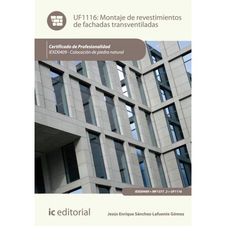 Montaje de revestimientos de fachadas transventiladas UF1116
