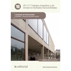Trabajos singulares y de remate en fachadas transventiladas UF1117