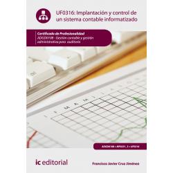 Implantación y control de un sistema contable informatizado UF0316