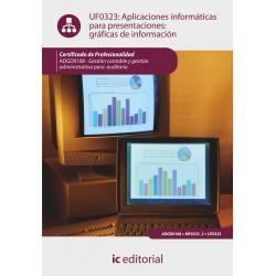 Aplicaciones informáticas para presentaciones: gráficas de información UF0323