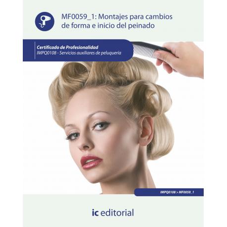 Montajes para cambios de forma e inicio del peinado MF0059_1