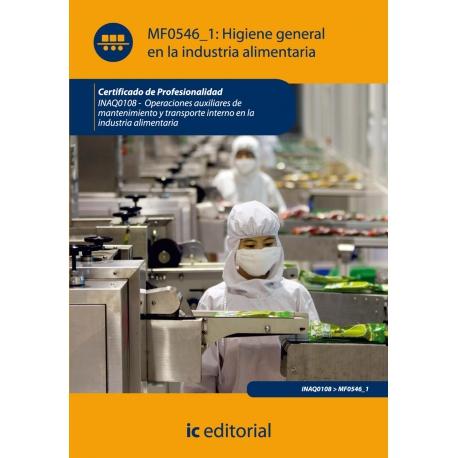 Higiene general en la industria alimentaria. INAQ0108