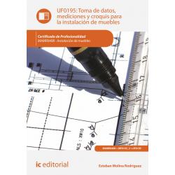 Toma de datos, mediciones y croquis para la instalación de muebles UF0195