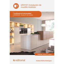 Instalación de mueble modular UF0197