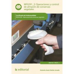 Operaciones y control de almacén de conservas vegetales MF0291_2
