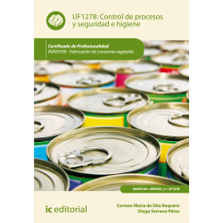 Control de procesos y seguridad e higiene UF1278