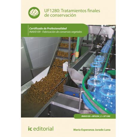 Tratamientos finales de conservación UF1280
