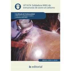 Soldadura MAG de estructuras de acero al carbono UF1674