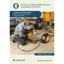 Soldadura MIG de acero inoxidable y aluminio UF1675