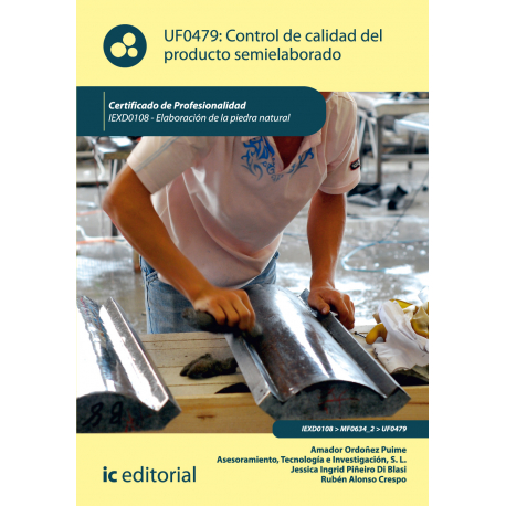 Control de calidad del producto semielaborado UF0479