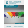 Acondicionado de materiales termoplásticos para su transformación MF0329_2