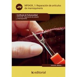 Reparación de artículos de marroquinería. TCPC0109
