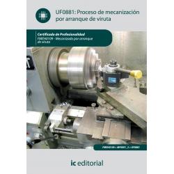 Proceso de mecanización por arranque de viruta. FMEH0109