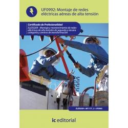Montaje de redes eléctricas aéreas de alta tensión. ELEE0209