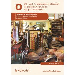 Materiales y atención al cliente en servicios de guarnicionería MF1232_1
