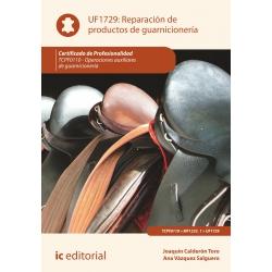 Reparación de  productos de guarnicionería UF1729