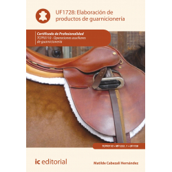 Elaboración de  productos de guarnicionería UF1728