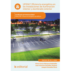 Eficiencia energética en las instalaciones de iluminación interior y alumbrado exterior UF0567
