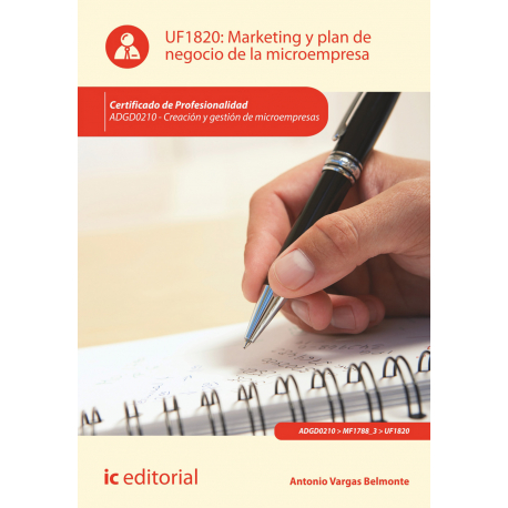 Marketing y plan de negocio de la microempresa UF1820