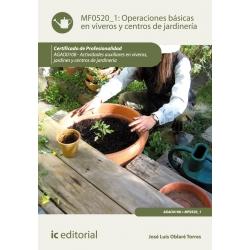 Operaciones básicas en viveros y centros de jardinería. AGAO0108