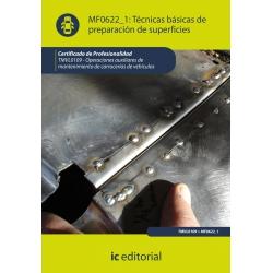 Técnicas básicas de preparación de superficies. TMVL0109