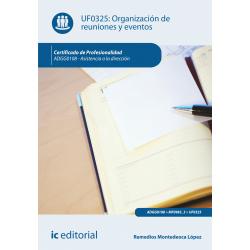 Organización de reuniones y eventos UF0325