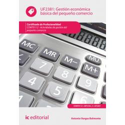 Gestión económica básica del pequeño comercio UF2381