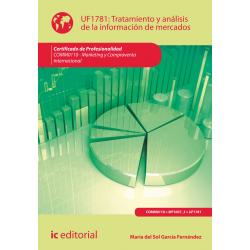 Tratamiento y análisis de la información de mercados UF1781