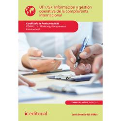 Información y gestión operativa de la compraventa internacional UF1757