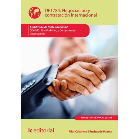 Negociación y contratación internacional  UF1784