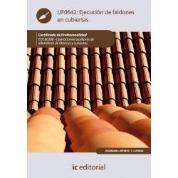 Ejecución de faldones en cubiertas. EOCB0208