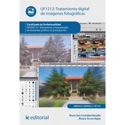 Tratamiento digital de imágenes fotográficas. ARPG0110