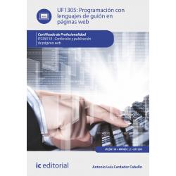 Programación con lenguajes de guión en páginas web UF1305