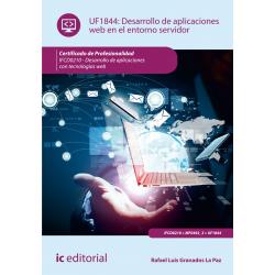 Desarrollo de aplicaciones web en el entorno servidor UF1844