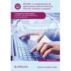 Implantación de aplicaciones web en entornos internet, intranet y extranet MF0493_3
