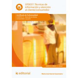 Técnicas de información y atención al cliente-consumidor UF0037