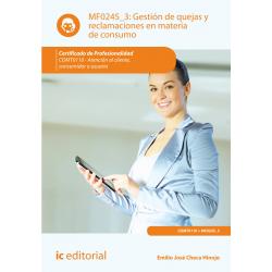Gestión de quejas y reclamaciones en materia de consumo MF0245_3