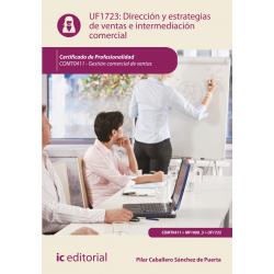 Dirección y estrategias de ventas e intermediación comercial UF1723